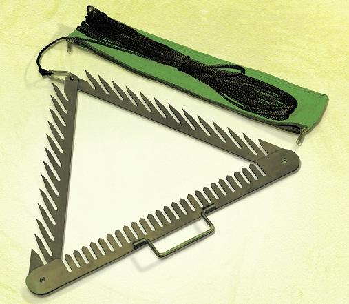 Как сделать косу на рыбалку 987